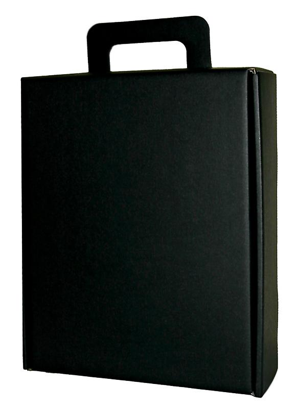 Подарки для мужчин к 23 февраля. Черный чемоданчик