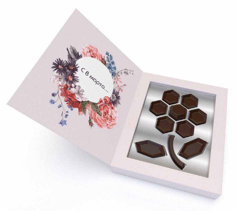 Шоколад на 8 Марта