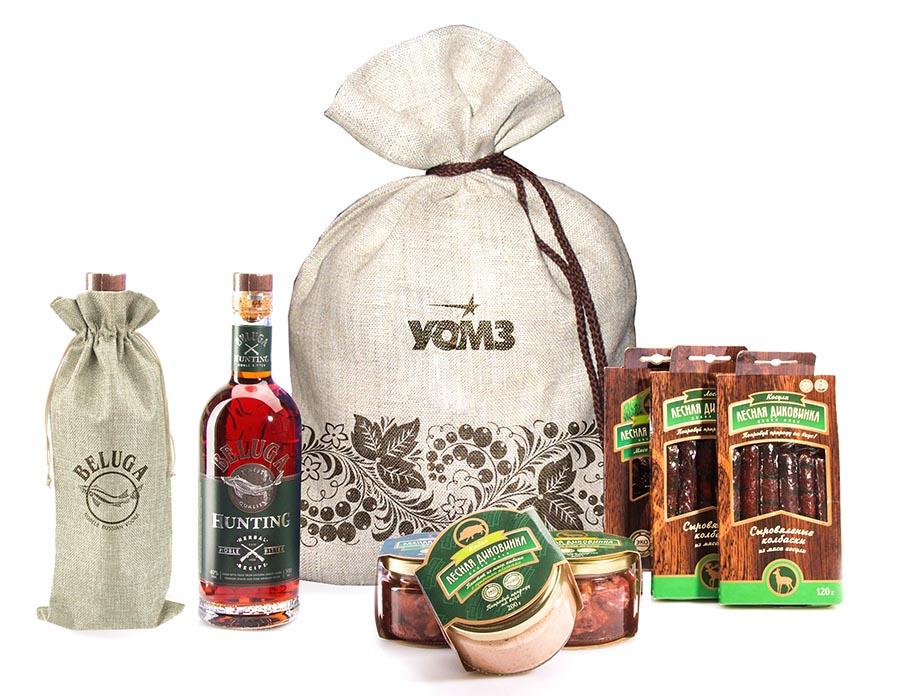 Подарочный набор с алкоголем