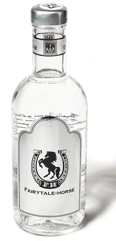 Водка с логотипом