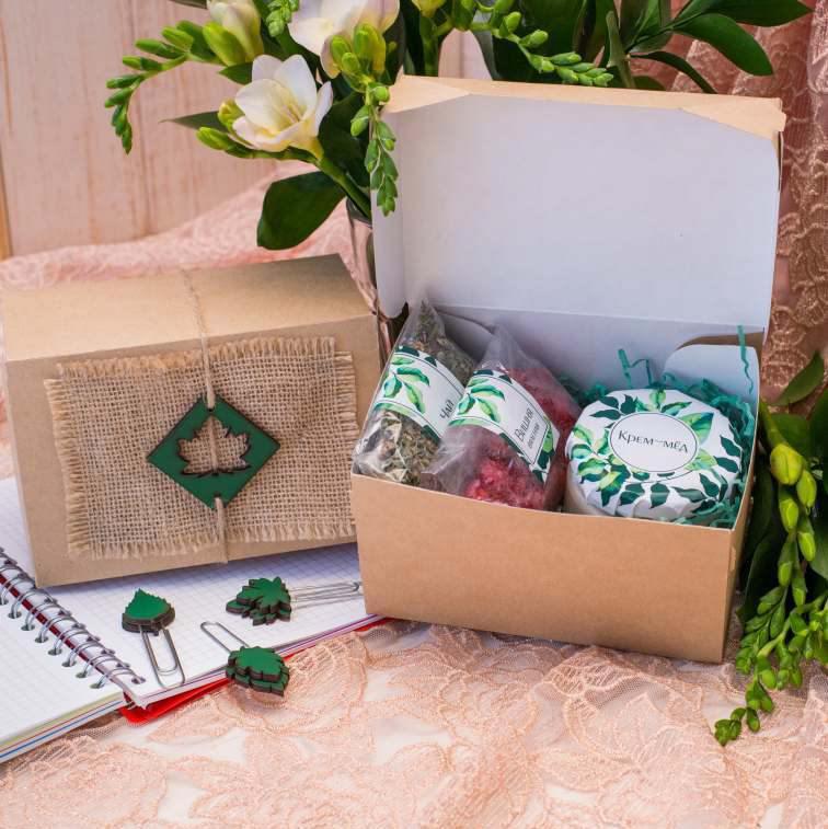 Подарочный набор «Весенняя листва»
