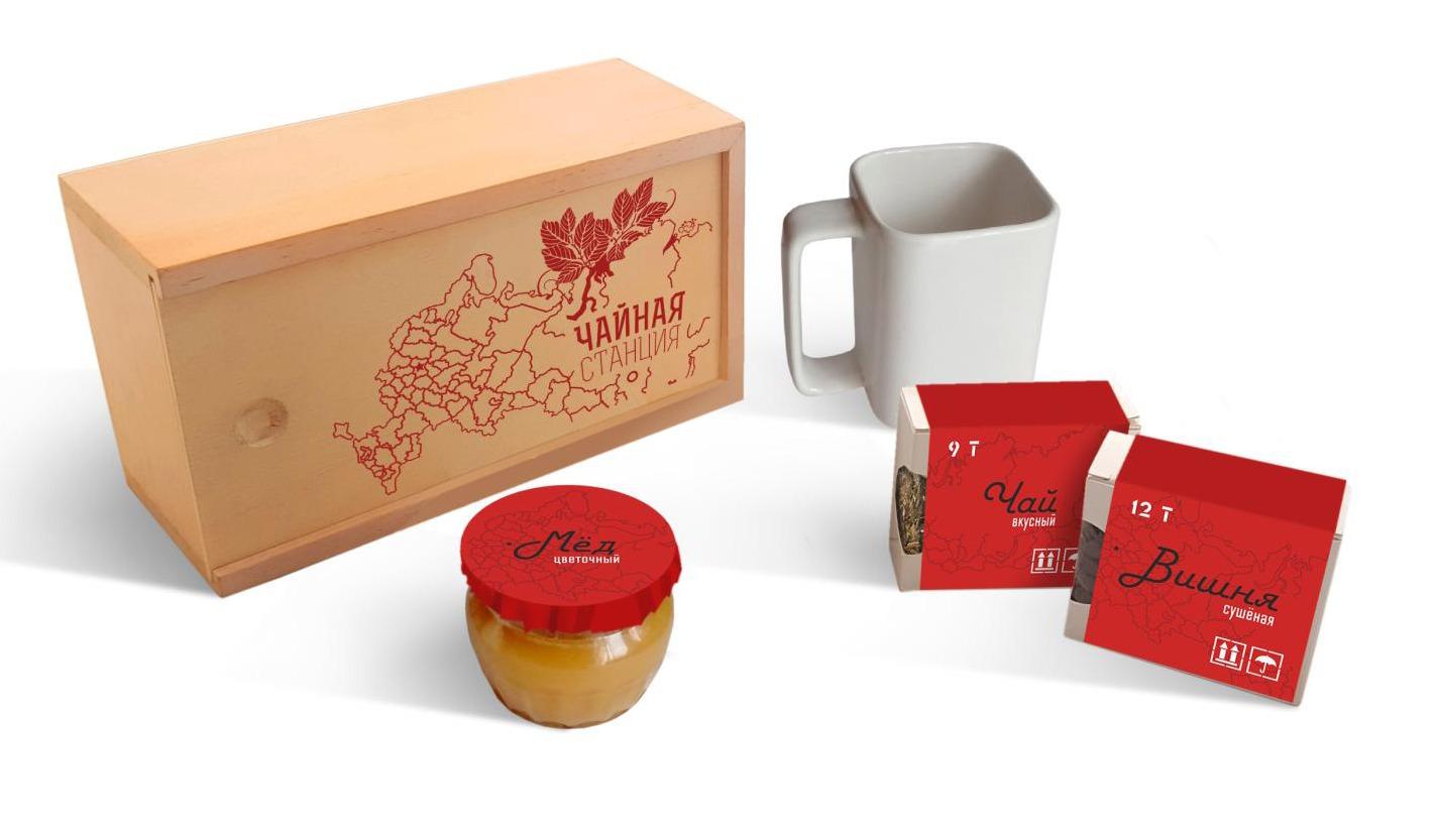 Подарочный набор Чайная станция