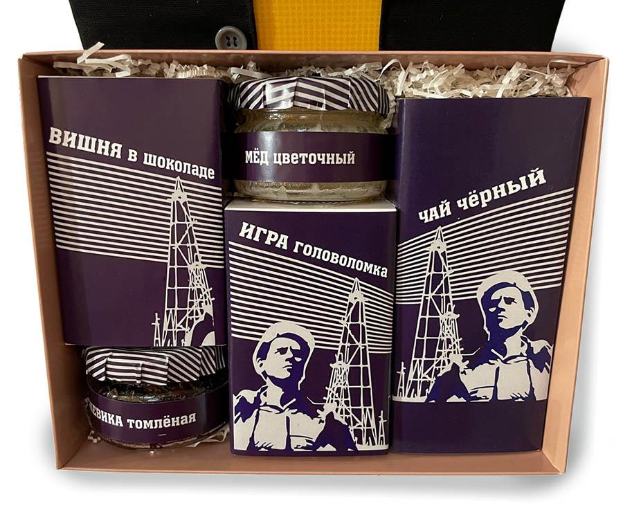 Подарочный набор вкусностей с Алтая на День нефтяника и газовика
