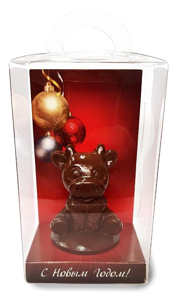 Шоколадные фигурки бычков с логотипом