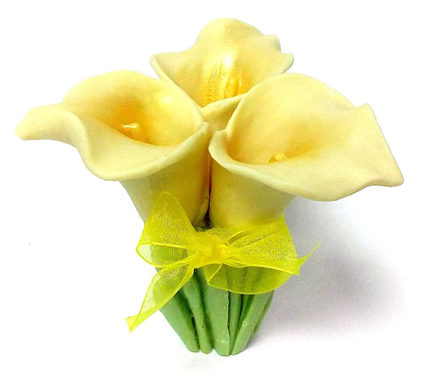 Букет цветов из шоколада к Международному женскому дню