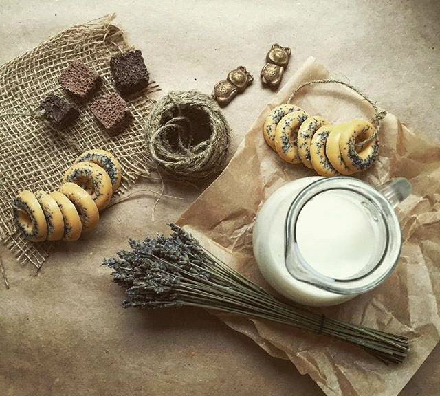 Сухари и сушки из шоколада