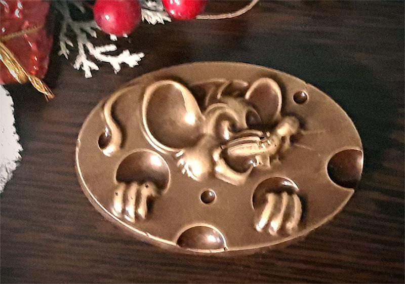 околадная фигурка Мышь в сыре