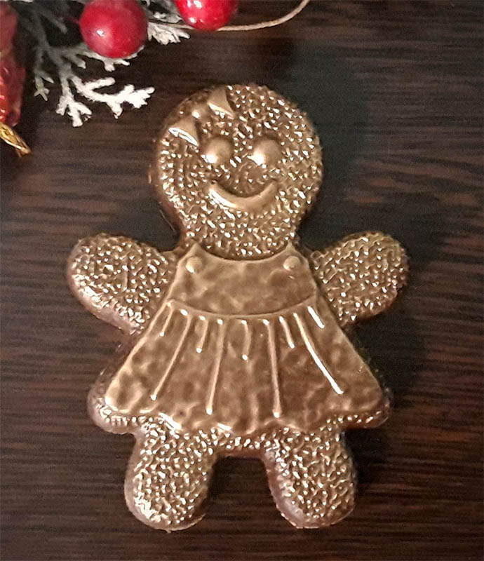 Шоколадный пряничный человечек