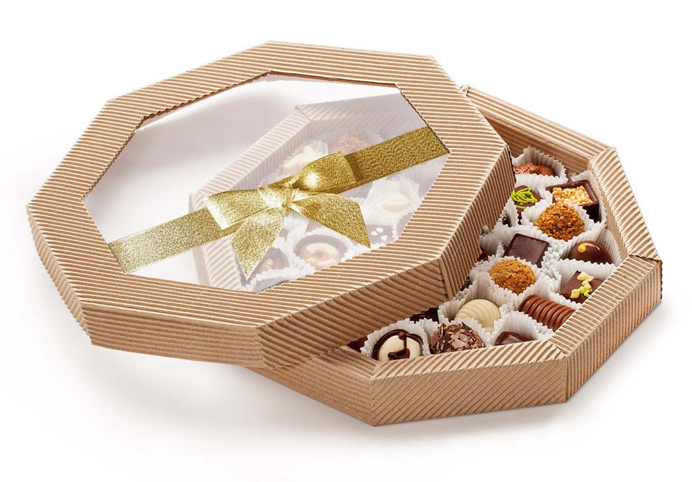 Шоколадные конфеты к празднику