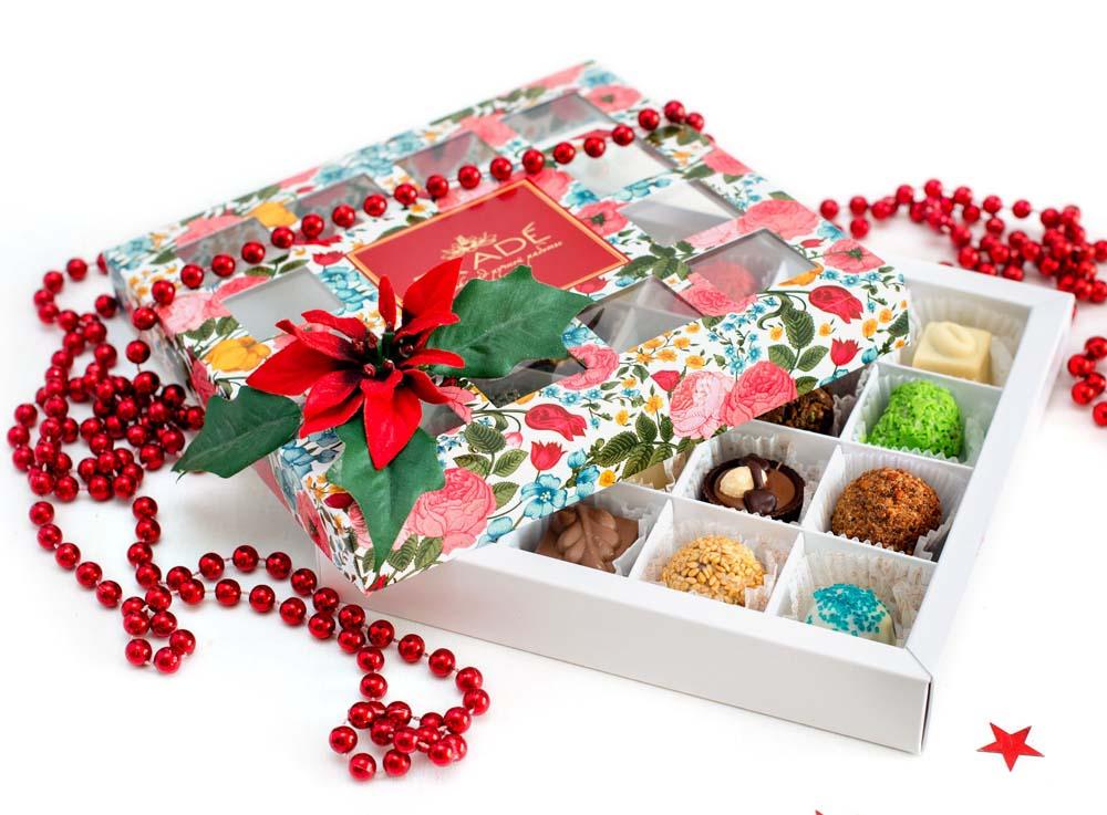Подарочные конфеты в тубе