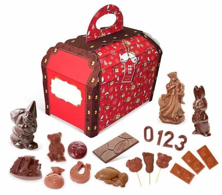 Подарочный набор конфет Сундук