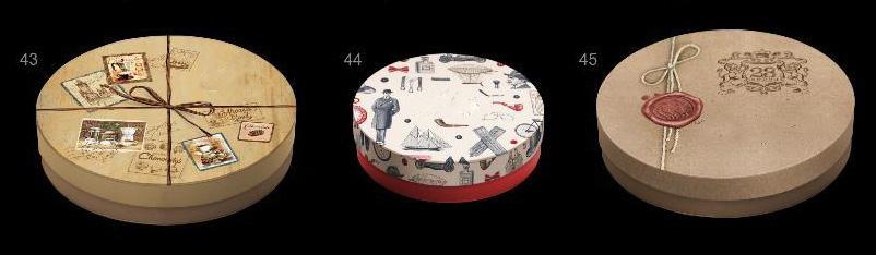 Частичное брендирование коробки конфет ручной работы