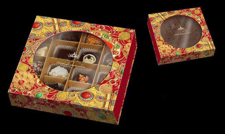 Подарочные конфеты на 23 Февраля