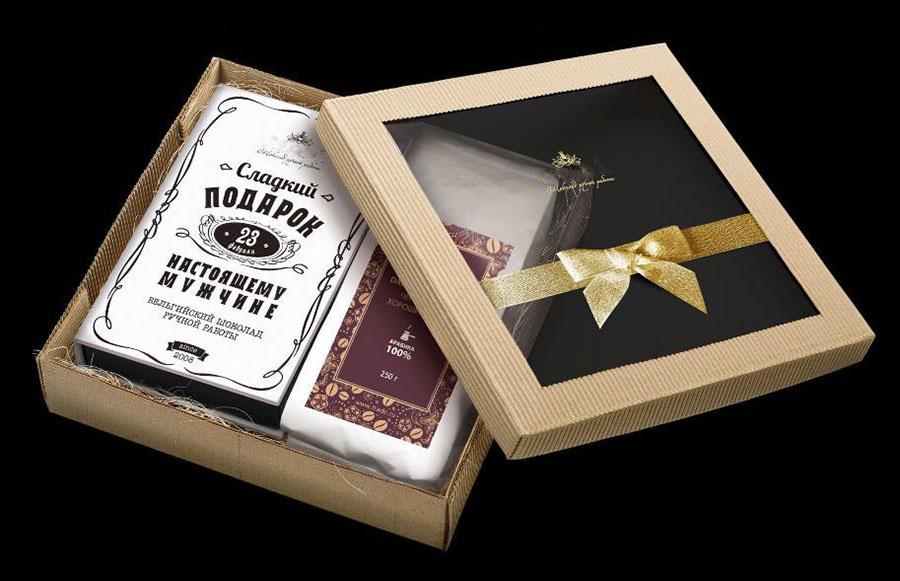 Конфеты ручной работы в подарочной коробке
