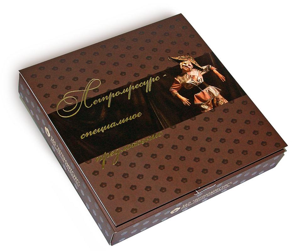 Конфеты Комильфо с логотипом