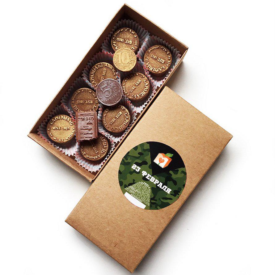 Подарочный набор из 8 конфет