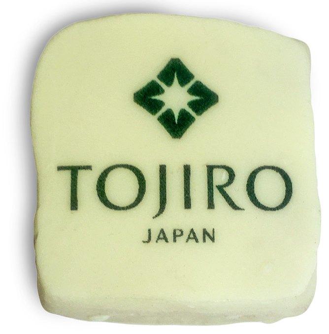 Мармелад в белом шоколаде с полноцветной печатью логотипа Tojiro