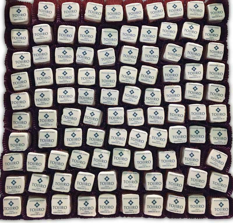 Конфеты ручной работы - мармелад в шоколаде с полноцветной печатью
