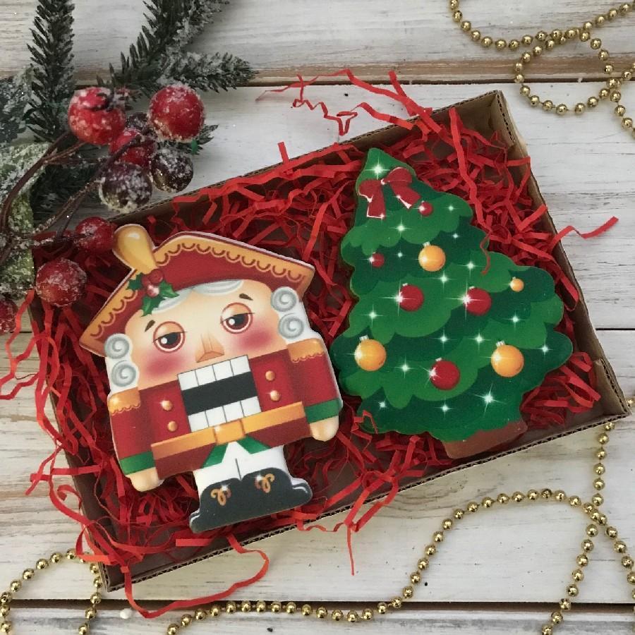 Новогодние имбирные пряники и печенье