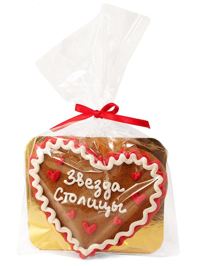 Печенье в форме сердечка