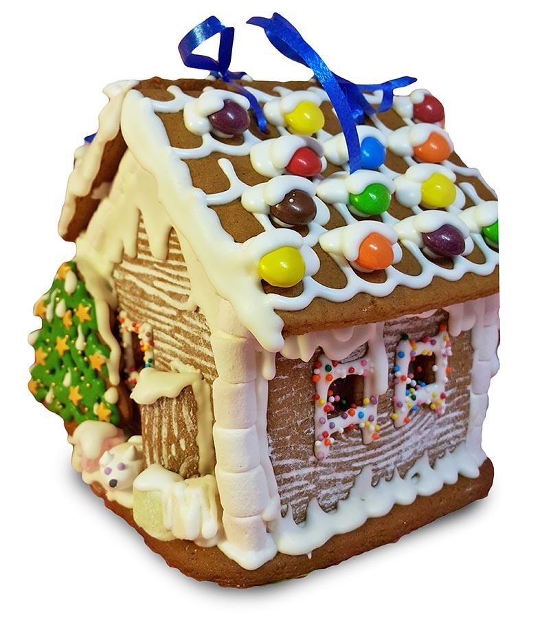 Пряничный дом на Новый год