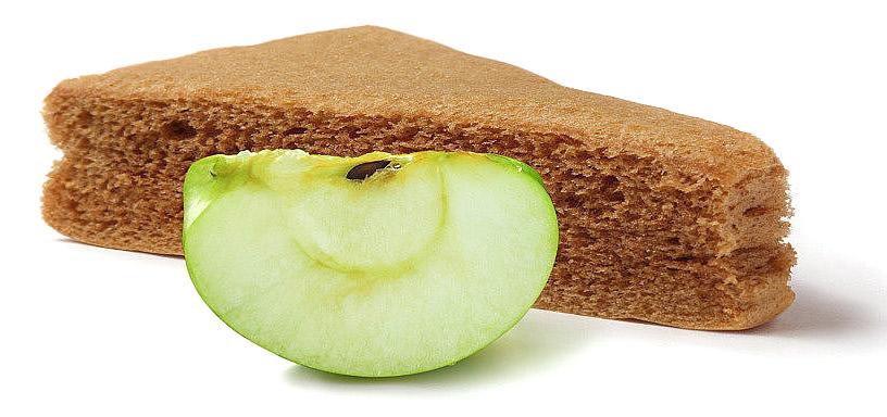 Яблочная пастила с логотипом