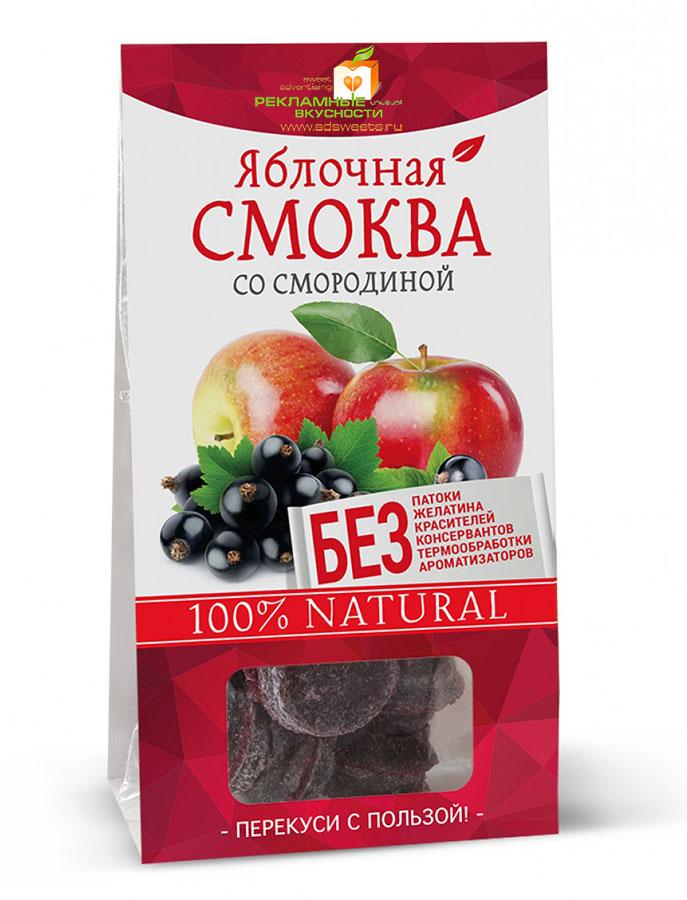 Фруктово-ягодная смоква в коробочках по 60 г