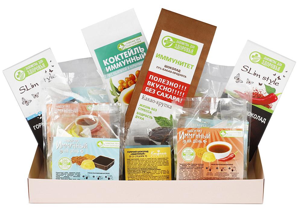 Подарочный набор вкусностей для укрепления иммунитета
