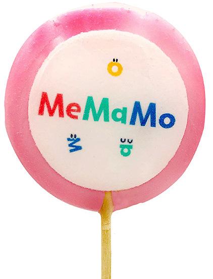 Леденец с логотипом MeMaMo