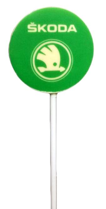 Круглые конфеты на палочке