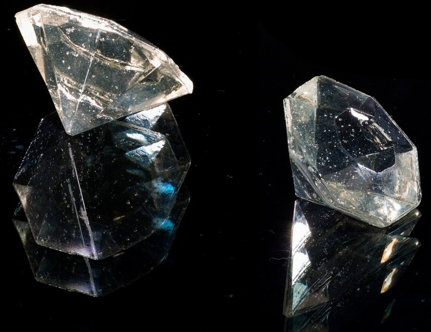 Прозрачный леденец-кристалл