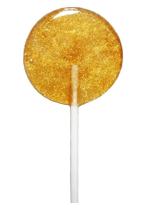 Золотой леденец на палочке