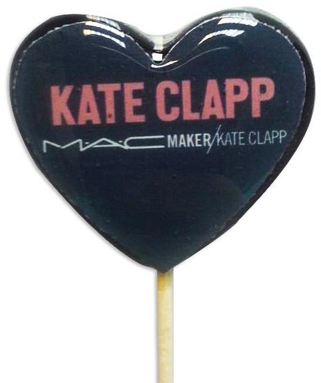 Леденец-сердце для MAC Cosmetics и блогера Кати Клэп