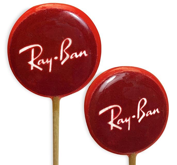 Леденцы с логотипом Ray Ban
