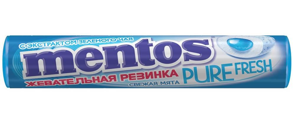 Жевательная резинка Mentos в роллах