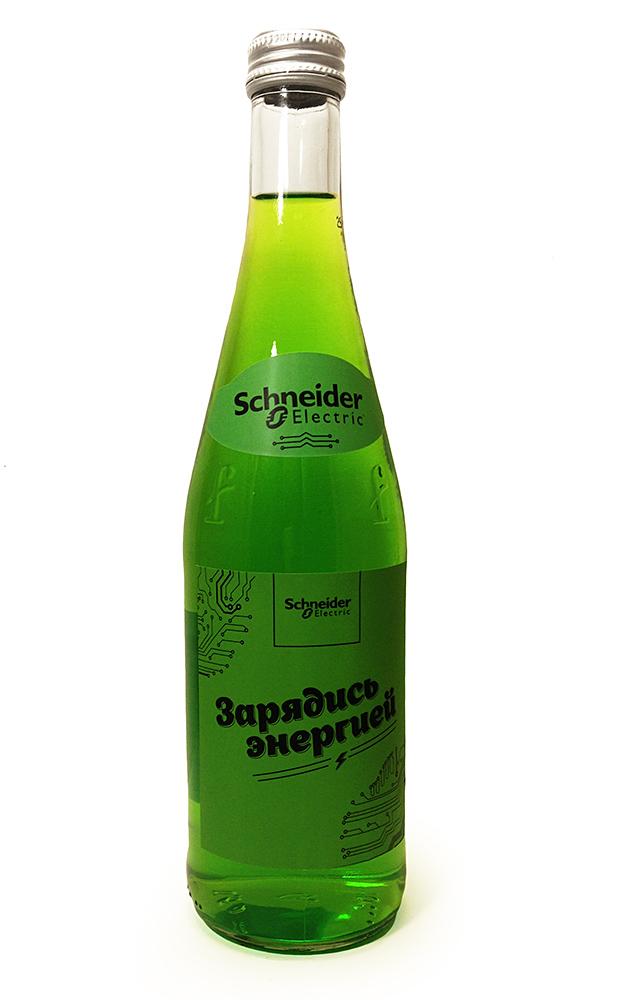 Безалкогольные напитки с логотипом