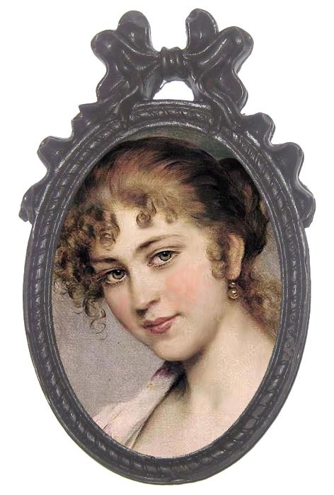 Шоколадные портреты и картины