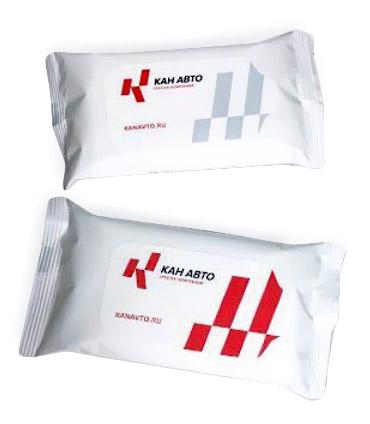 Влажные салфетки для рук и лица