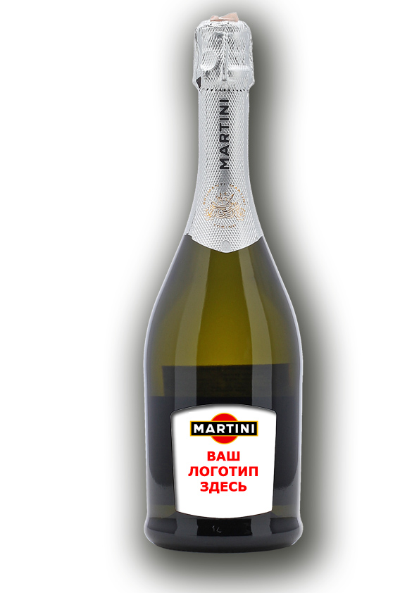 Шампанское с логотипом
