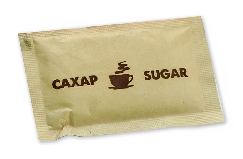 Сахар с логотипом