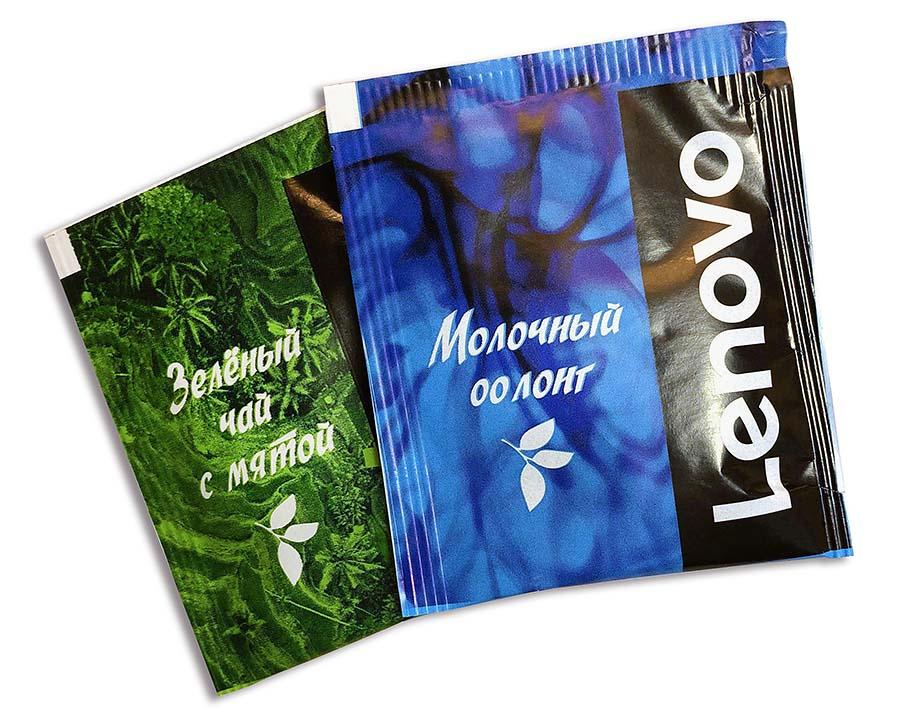 Чай с логотипом Lenovo