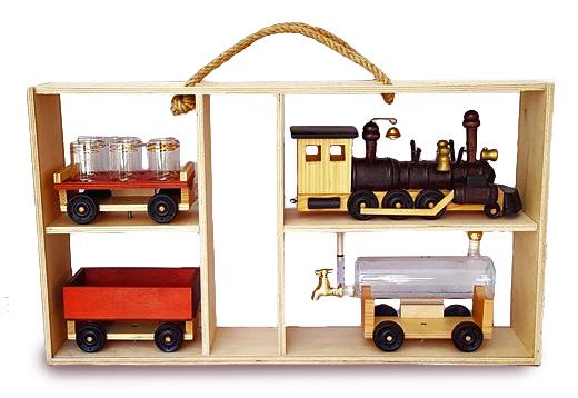 Подарочный поезд-бар