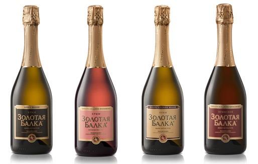 Шампанское Золотая балка