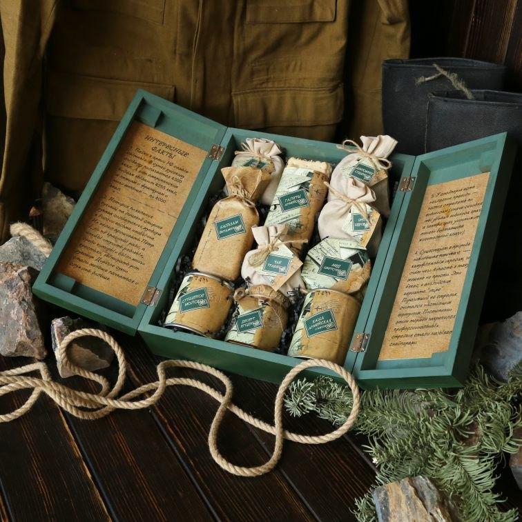 Сибирские наборы в подарок на 23 февраля
