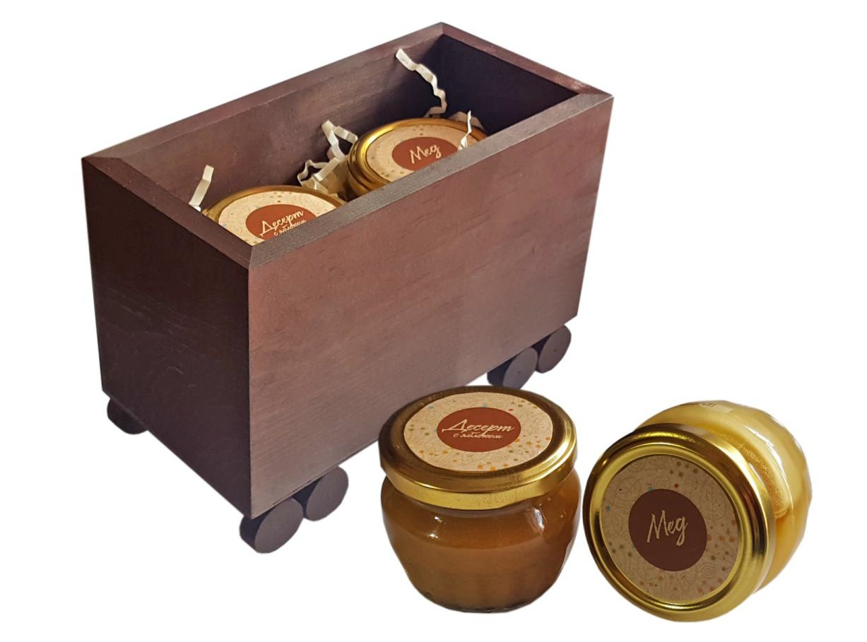 Подарочный набор Вагончик