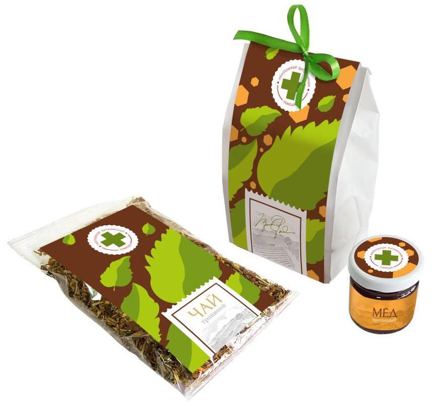 Подарочный набор Витаминная помощь