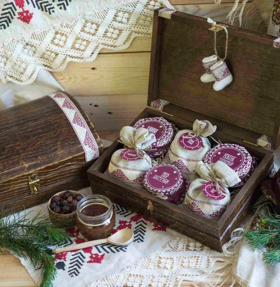 Подарочный набор из Сибири на Новый год