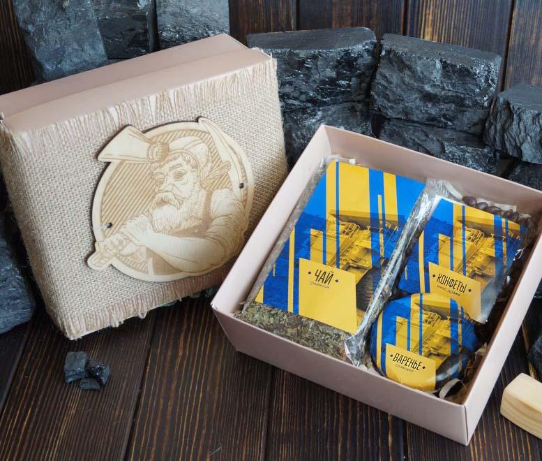 Подарочный набор для угольщиков