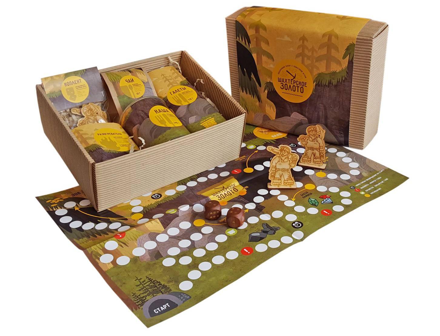 Подарочный набор Шахтерское золото