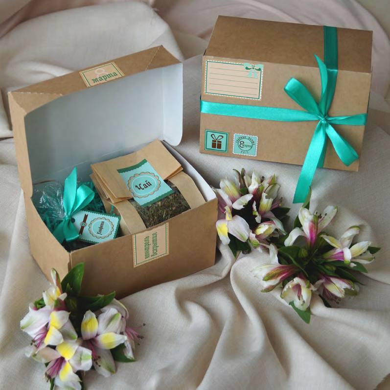 Подарочный набор Сладкая почта